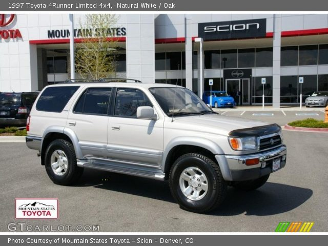 natural white 1997 toyota 4runner limited 4x4 oak. Black Bedroom Furniture Sets. Home Design Ideas