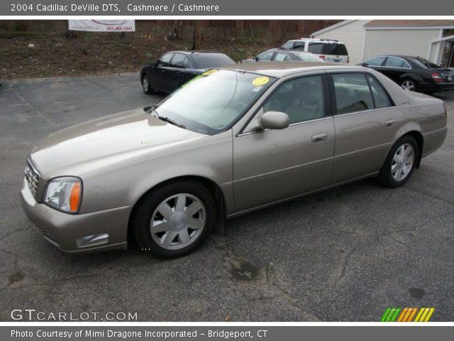 Cashmere 2004 Cadillac Deville Dts Cashmere Interior Vehicle Archive 48520708