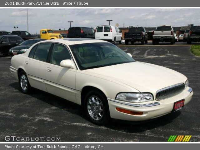 white 2001 buick park avenue ultra taupe interior. Black Bedroom Furniture Sets. Home Design Ideas