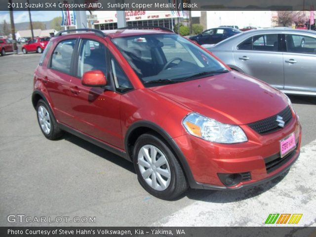 2011 Suzuki SX4 Crossover AWD in Sunlight Copper Metallic