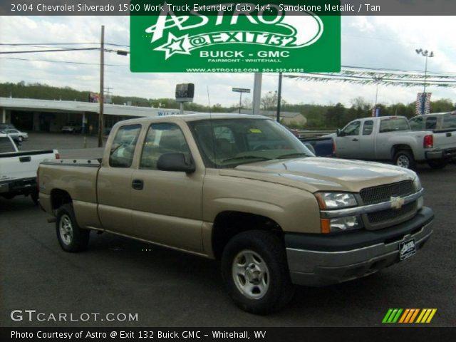 2004 Chevrolet Silverado 1500 Work Truck >> Sandstone Metallic 2004 Chevrolet Silverado 1500 Work