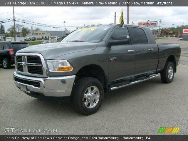 2010 Dodge Ram 2500 Truck Slt Light Graystone Pearl