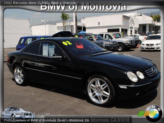 2002 Mercedes-Benz CL 500 in Black