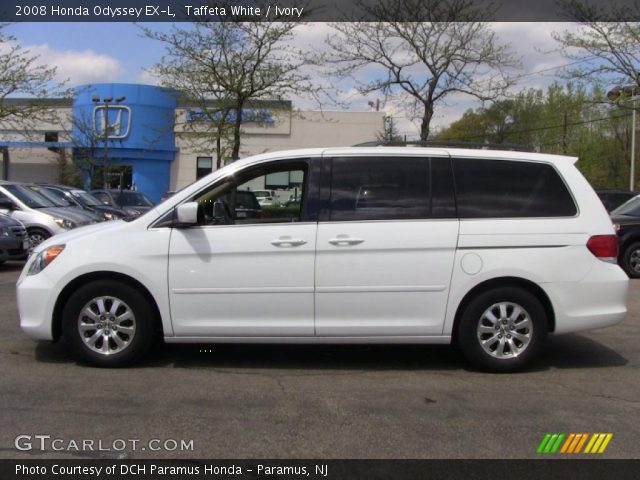 taffeta white 2008 honda odyssey ex l ivory interior. Black Bedroom Furniture Sets. Home Design Ideas