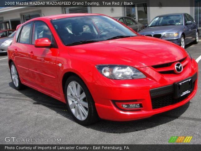 true red 2008 mazda mazda3 mazdaspeed grand touring. Black Bedroom Furniture Sets. Home Design Ideas