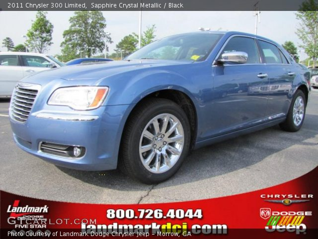 2011 Chrysler 300 Limited in Sapphire Crystal Metallic