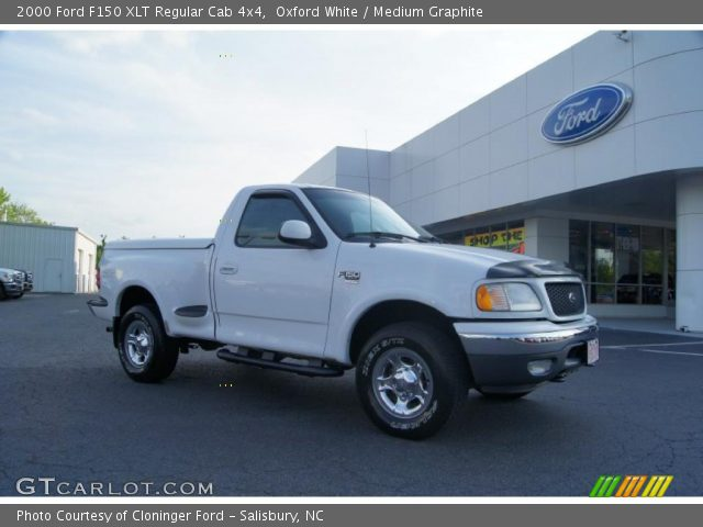 2000 Ford F150 XLT Regular Cab 4x4 in Oxford White