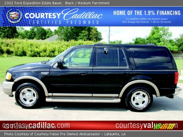 black 2002 ford expedition eddie bauer medium. Black Bedroom Furniture Sets. Home Design Ideas