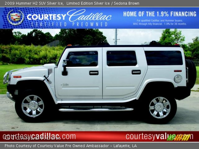 2009 Hummer H2 SUV Silver Ice in Limited Edition Silver Ice