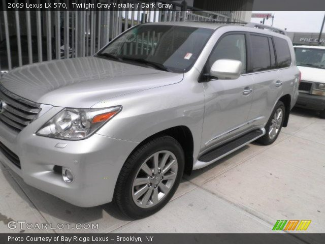twilight gray metallic 2009 lexus lx 570 dark gray. Black Bedroom Furniture Sets. Home Design Ideas