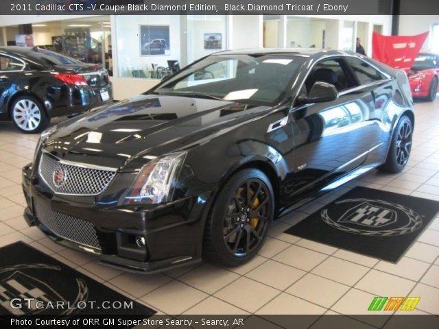 2011 Cadillac CTS -V Coupe Black Diamond Edition in Black Diamond Tricoat