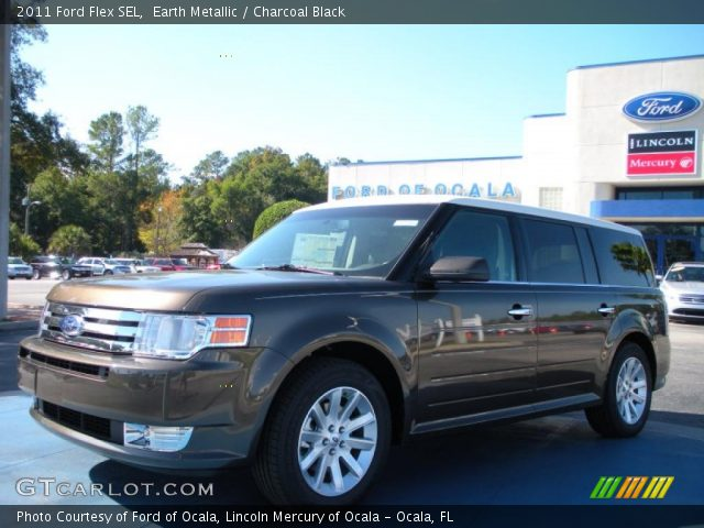earth metallic 2011 ford flex sel charcoal black. Black Bedroom Furniture Sets. Home Design Ideas