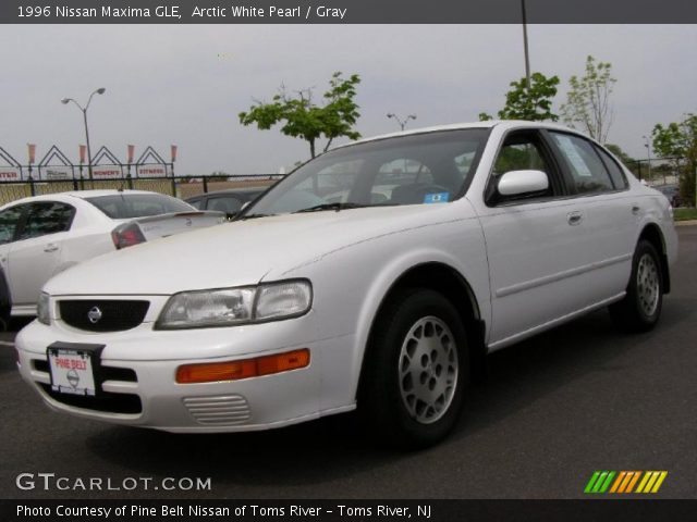 arctic white pearl 1996 nissan maxima gle gray. Black Bedroom Furniture Sets. Home Design Ideas