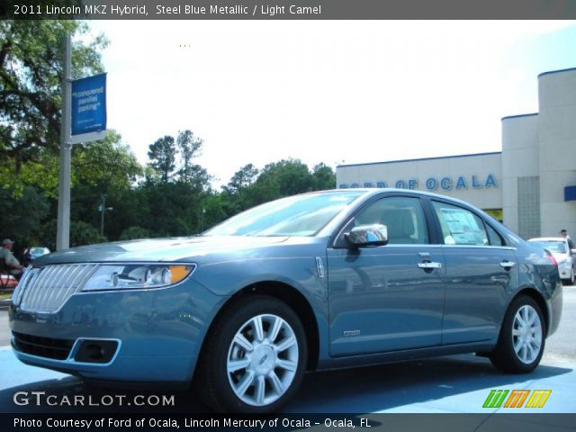 2011 Lincoln MKZ Hybrid in Steel Blue Metallic