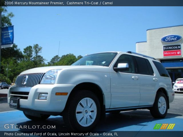 2006 Mercury Mountaineer Premier in Cashmere Tri-Coat