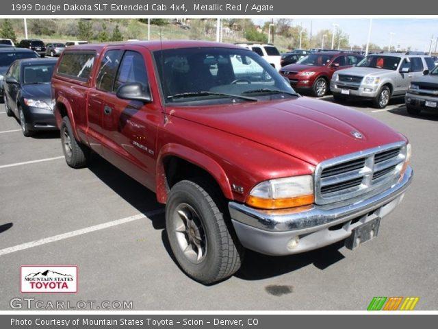metallic red 1999 dodge dakota slt extended cab 4x4. Black Bedroom Furniture Sets. Home Design Ideas