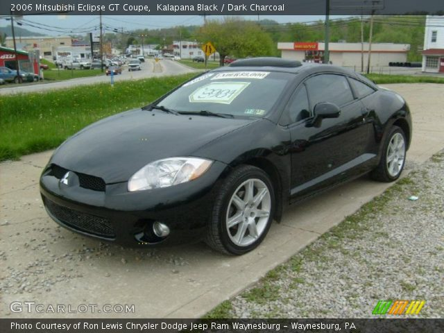 kalapana black 2006 mitsubishi eclipse gt coupe dark charcoal interior. Black Bedroom Furniture Sets. Home Design Ideas