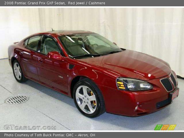 red jewel 2008 pontiac grand prix gxp sedan cashmere interior vehicle. Black Bedroom Furniture Sets. Home Design Ideas