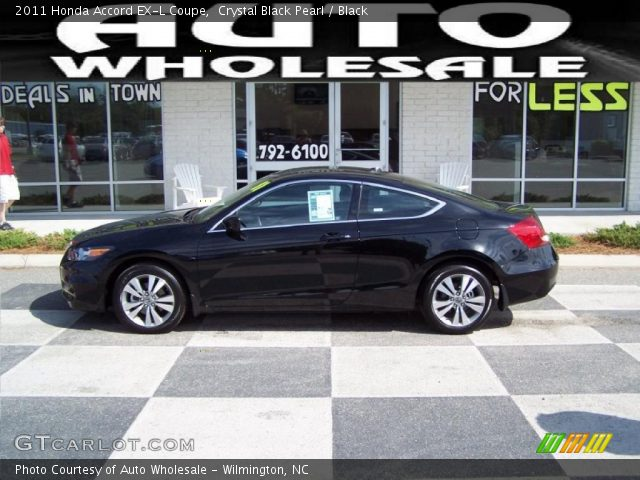 2011 Honda Accord EX-L Coupe in Crystal Black Pearl