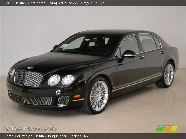 2012 Bentley Continental Flying Spur Speed in Onyx