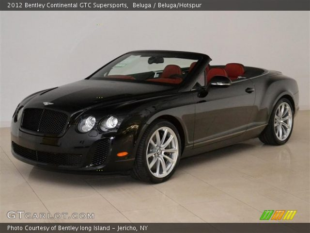 2012 Bentley Continental GTC Supersports in Beluga
