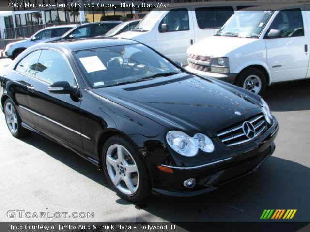 Black 2007 mercedes benz clk 550 coupe black ash for 2007 mercedes benz clk550