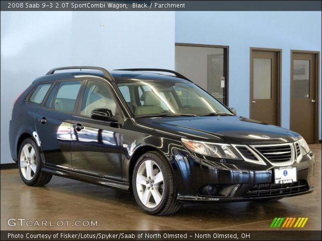 black 2008 saab 9 3 2 0t sportcombi wagon parchment. Black Bedroom Furniture Sets. Home Design Ideas