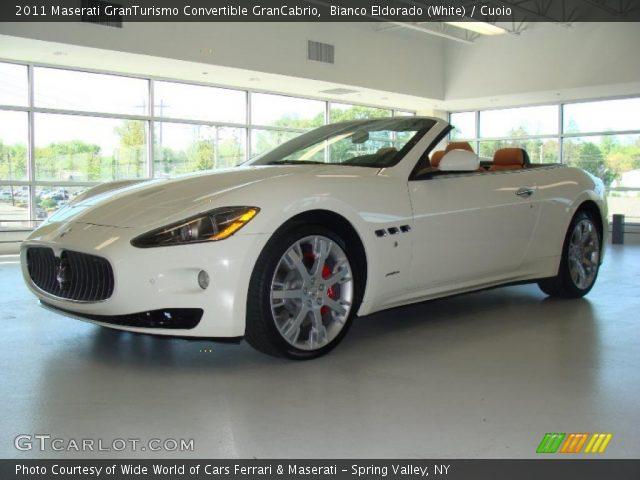 2011 Maserati GranTurismo Convertible GranCabrio in Bianco Eldorado (White)