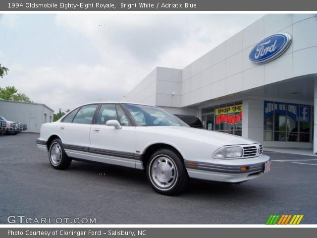 1994 Oldsmobile Eighty-Eight Royale in Bright White
