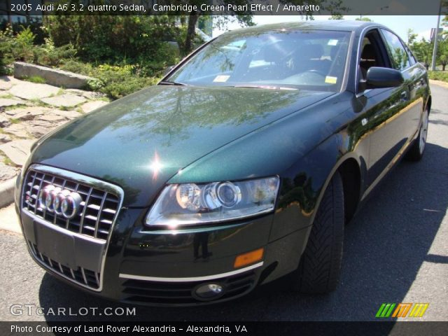 Cambridge Green Pearl Effect 2005 Audi A6 3 2 Quattro