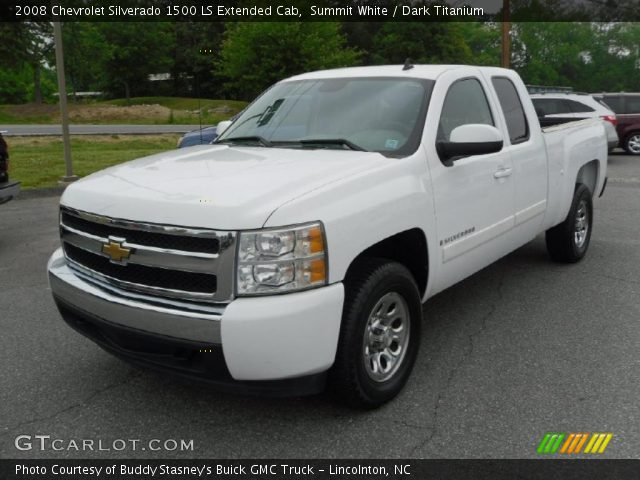 2008 Chevrolet Silverado 1500 LS Extended Cab in Summit White