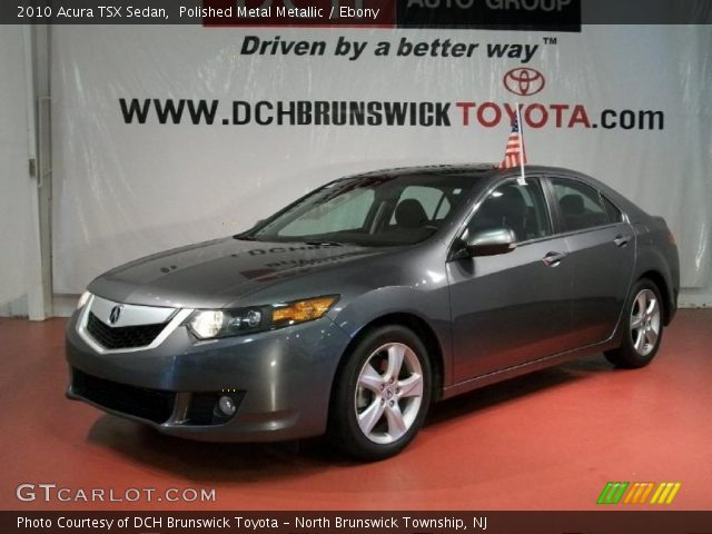 polished metal metallic 2010 acura tsx sedan ebony. Black Bedroom Furniture Sets. Home Design Ideas