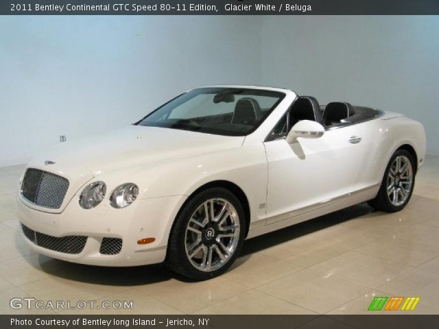 2011 Bentley Continental GTC Speed 80-11 Edition in Glacier White