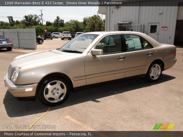 1998 Mercedes-Benz E 430 Sedan in Smoke Silver Metallic