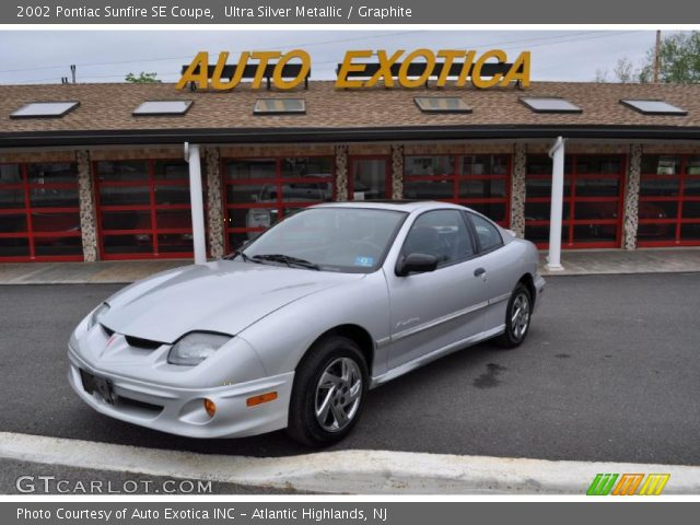 ultra silver metallic 2002 pontiac sunfire se coupe. Black Bedroom Furniture Sets. Home Design Ideas