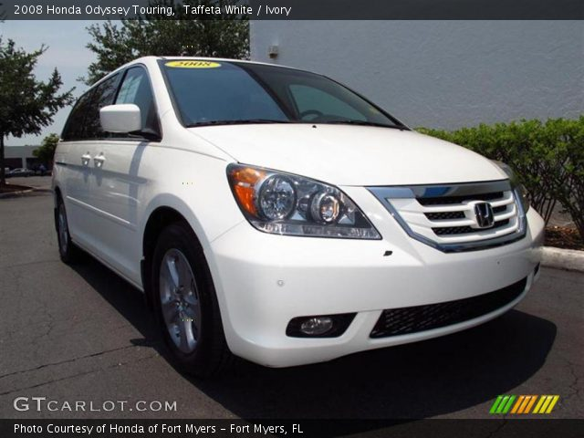 taffeta white 2008 honda odyssey touring ivory. Black Bedroom Furniture Sets. Home Design Ideas