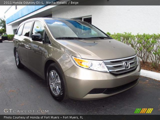 2011 Honda Odyssey EX-L in Mocha Metallic