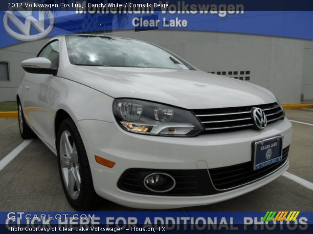 candy white 2012 volkswagen eos lux cornsilk beige. Black Bedroom Furniture Sets. Home Design Ideas