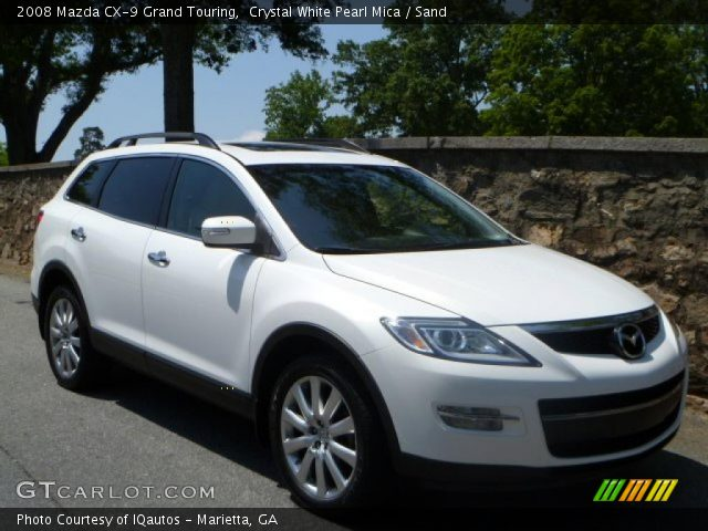 crystal white pearl mica 2008 mazda cx 9 grand touring. Black Bedroom Furniture Sets. Home Design Ideas