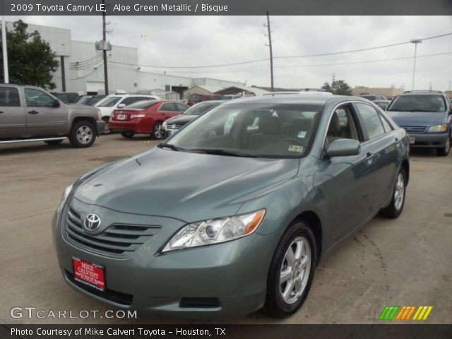 Aloe Green Metallic 2009 Toyota Camry Le Bisque Interior Vehicle Archive