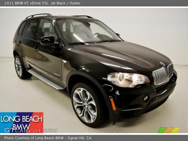 jet black 2011 bmw x5 xdrive 50i oyster interior. Black Bedroom Furniture Sets. Home Design Ideas