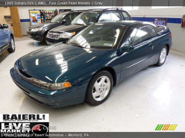 1995 Subaru SVX L AWD in Polo Green Pearl Metallic