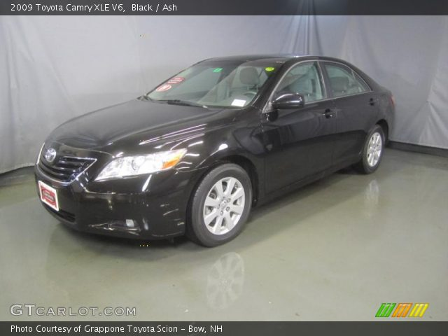 black 2009 toyota camry xle v6 ash interior vehicle archive 49566091. Black Bedroom Furniture Sets. Home Design Ideas