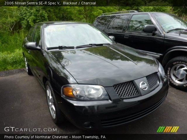 Blackout 2006 Nissan Sentra Se R Spec V Charcoal Interior
