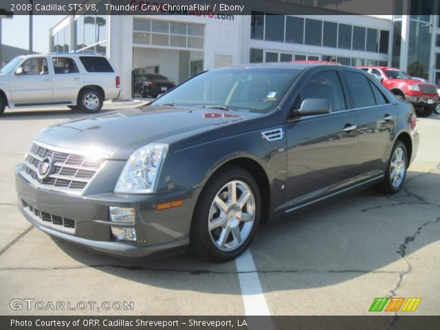 2008 Cadillac STS V8 in Thunder Gray ChromaFlair