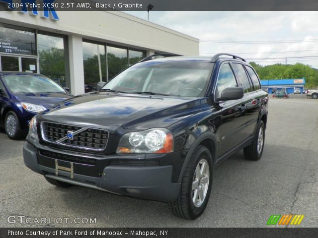black 2004 volvo xc90 2 5t awd graphite interior vehicle archive 49695014. Black Bedroom Furniture Sets. Home Design Ideas
