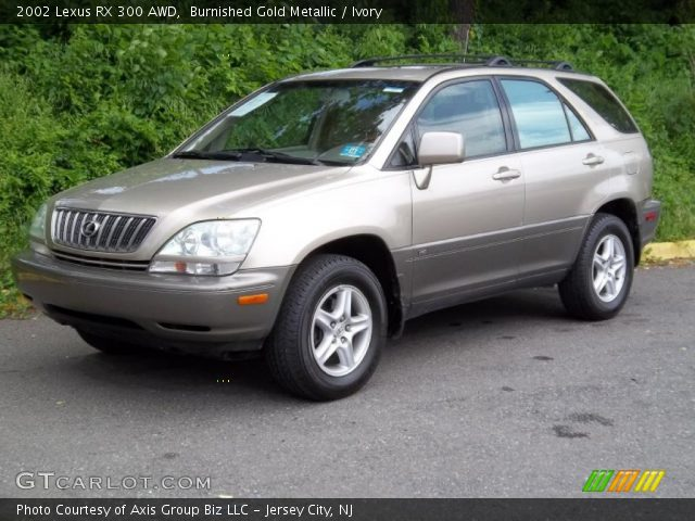 burnished gold metallic 2002 lexus rx 300 awd ivory. Black Bedroom Furniture Sets. Home Design Ideas