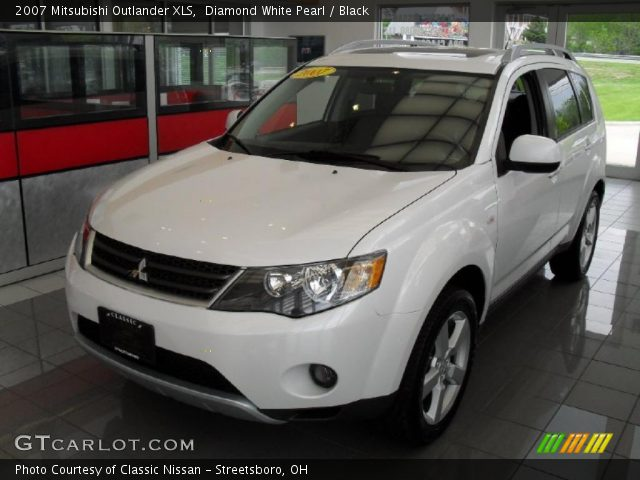 diamond white pearl 2007 mitsubishi outlander xls. Black Bedroom Furniture Sets. Home Design Ideas