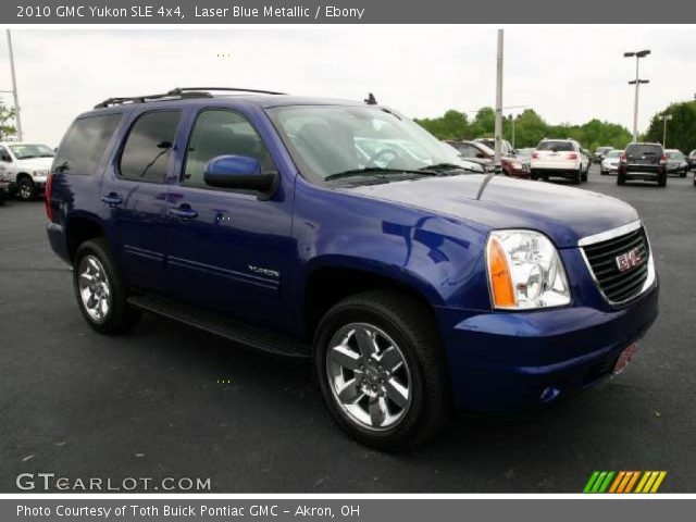 2010 GMC Yukon SLE 4x4 in Laser Blue Metallic