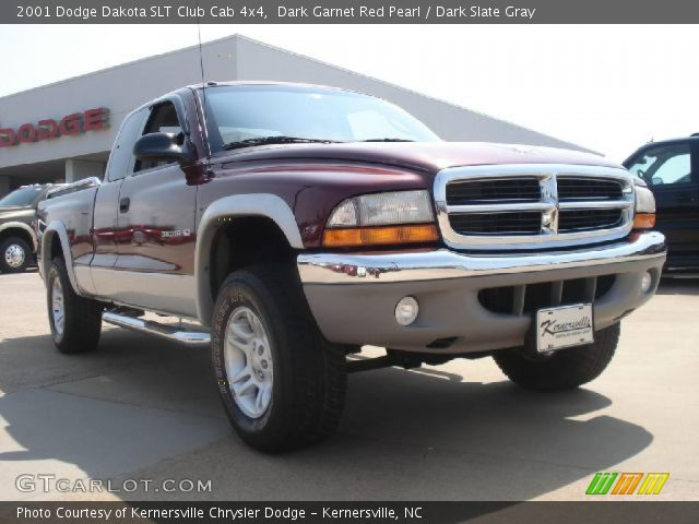 dark garnet red pearl 2001 dodge dakota slt club cab 4x4. Black Bedroom Furniture Sets. Home Design Ideas